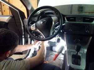 установка сигнализации с автозапуском Starline E90