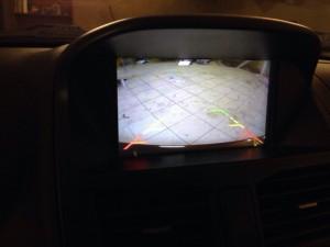 Калина 2 установка камеры заднего вида